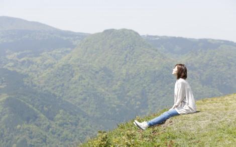 自然に呼吸が深くなる