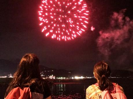 8月22日箸祭り花火大会