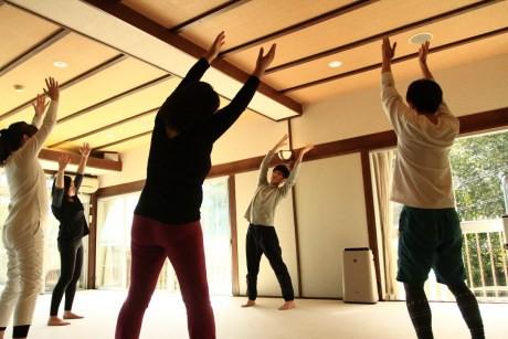 養生館の体操