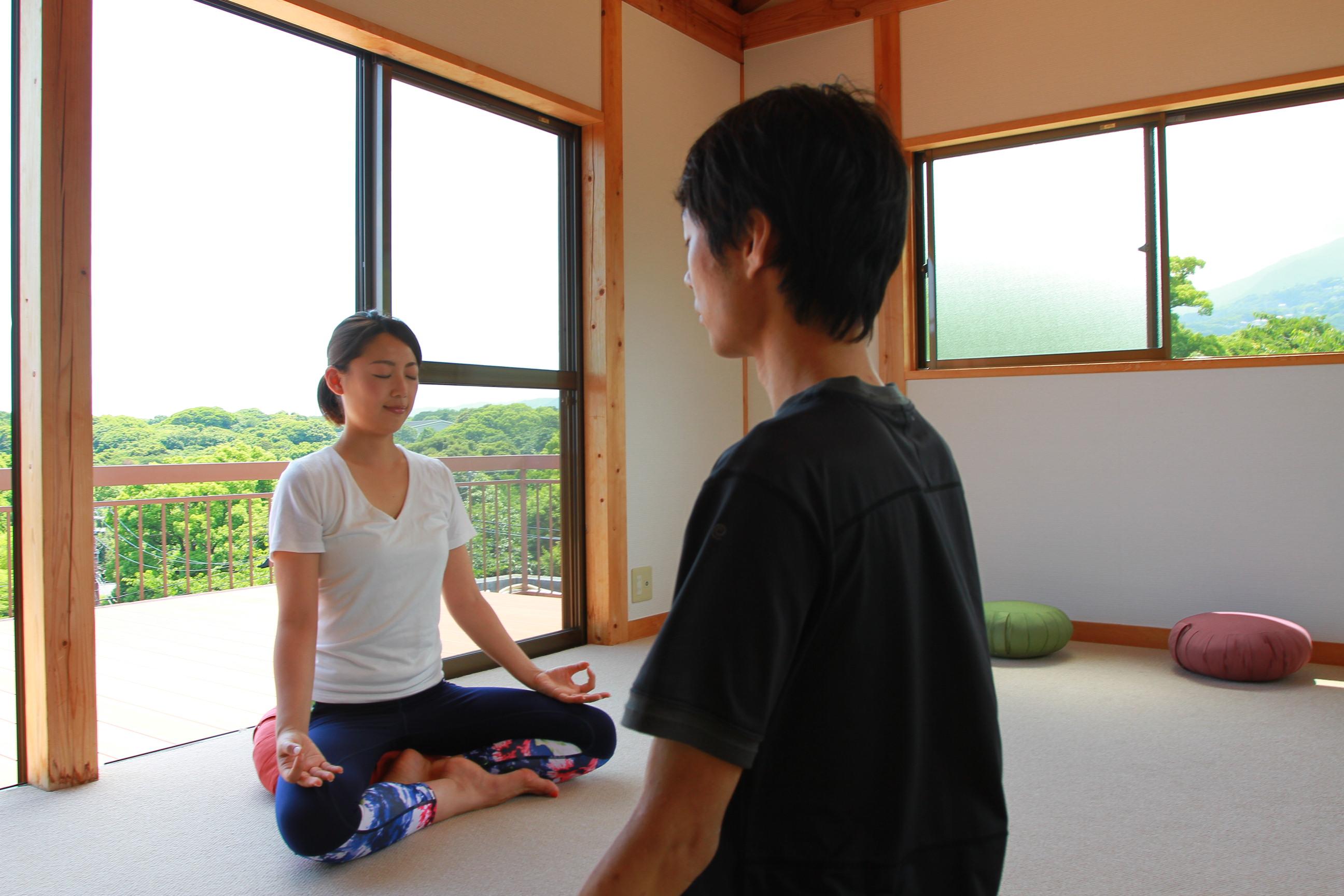 瞑想空間・観照