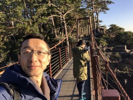 城ケ崎のつり橋