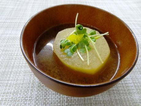 風呂吹き大根の味噌汁