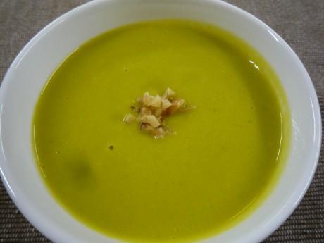 南瓜と大豆のスープ