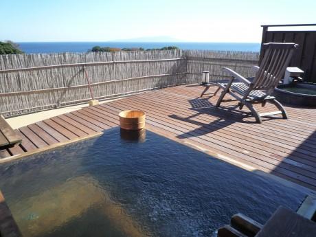 海の見える展望露天風呂