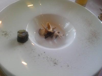 椎茸のポタージュ
