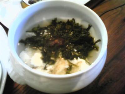 味噌玉の味噌汁
