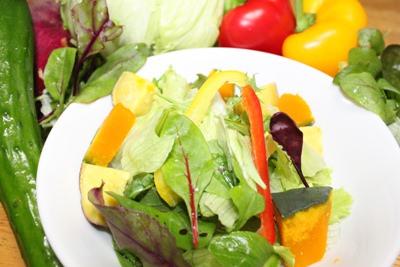 酵素ファスティングのサラダ